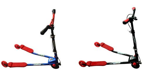 fabuloso patín 3 ruedas marca diablo niño adulto megaresiste