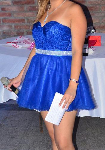 fabuloso vestido de 15, largo y corto, único uso