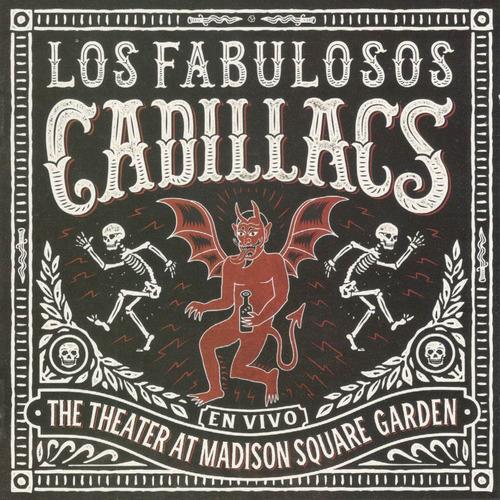 fabulosos cadillacs vivo madison square garden cd+dvd nuevo