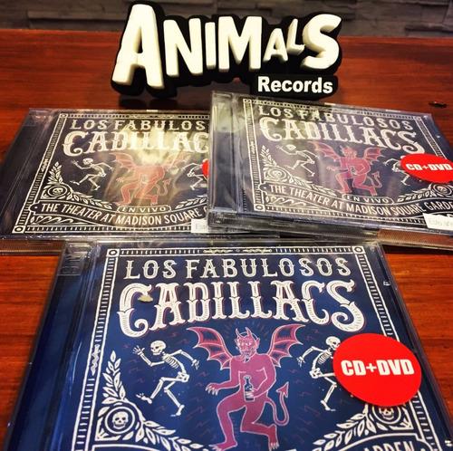 fabulosos cadillacs vivo madison square garden cd+dvd stock