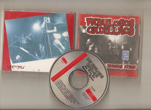 fabulosos cadillas - en vivo en bs as - cd- maceo-disqueria