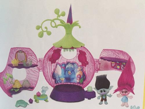 fabulosos trolls de la nueva pelicula, coronacion de poppy