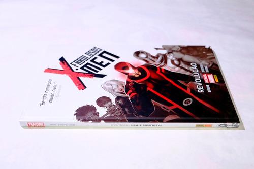 fabulosos x-men - revolução - capa dura!! - lacrada!!!!!!!!!