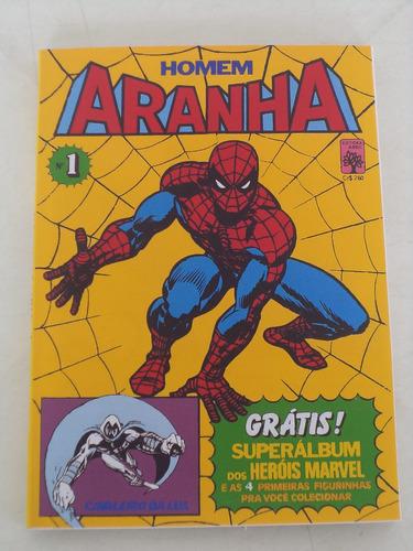 fac-símile homem-aranha nº 1 - abril