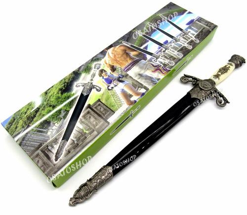 faca adaga punhal aço inox, excelente para decorar na caixa