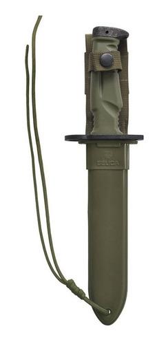 faca baioneta m9 - cabo de polímero verde