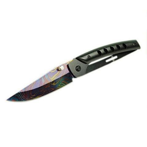 faca / canivete em inox  dobrável  camping caça e pesca