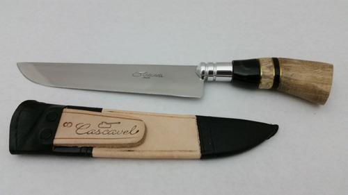 faca churrasco cozinha gaúcha cirurgico 8 pol. cascavel 318/