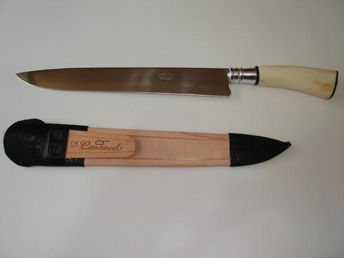 faca churrasco gaúcha 12 pol. cascavel cabo curvo 508/12
