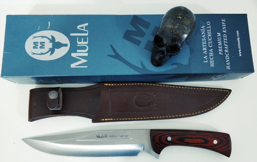 faca de caça muela jabali 21 e - made in spain original 34cm