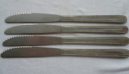 faca de mesa antiga eberle inox -b bk