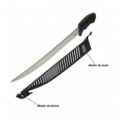 faca fileteira marine sports filé knife ms08 aço inox 16cm