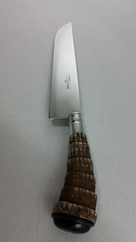 faca gaúcha churrasco cozinha rabo de tatu - cascavel 9 pol