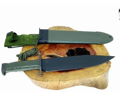 faca imbel amz original com pedra de afiar carborundum 109n