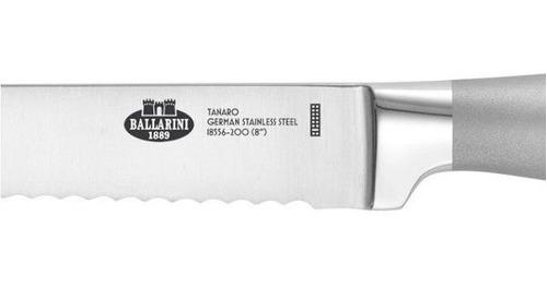 faca inox universal pão serra 8p ballarini tanaro - zwilling