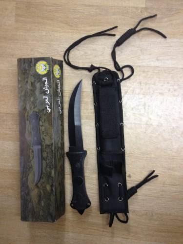 Faca Jambiya Tatica Arabian Army Arabe Jordanea Knife R