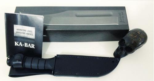 faca ka bar short 1256 - bainha couro legítimo - made in usa