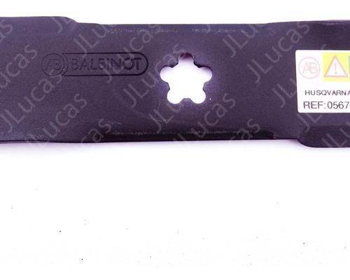 faca lâmina similar trator husqvarna lt131 lt1597 lt151 48,8