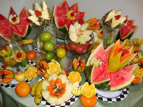 Faca Para Decorar Frutas E Legumes Hercules Plaza Inox R
