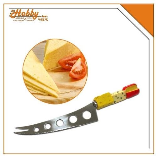 faca para queijo - cabo em resina (queijos)