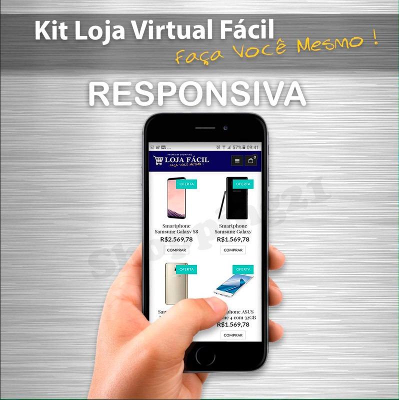 80d6e20c3 Faça Voce Mesmo Kit Loja Virtual Videos Tutoriais Pagseguro - R  44 ...
