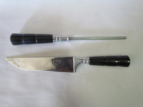 facas com cabo de chifre marca ginete