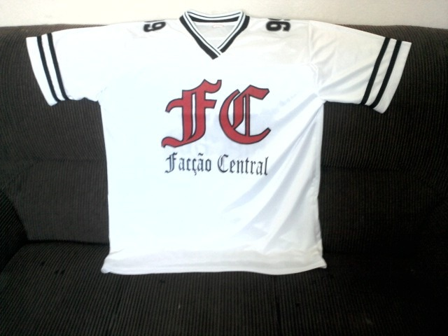 Facção Central - Camisa De Poliéster - Todas As Cores - R  99 582d4cbacd5