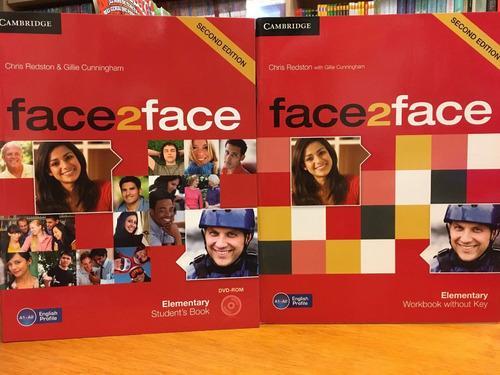 face 2 face - 2/ed. - elementary - sb & wb - cambridge