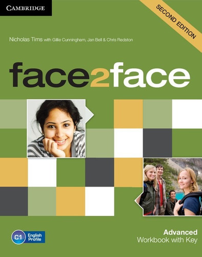 face 2 face advanced 2 ed - workbook with key - cambridge