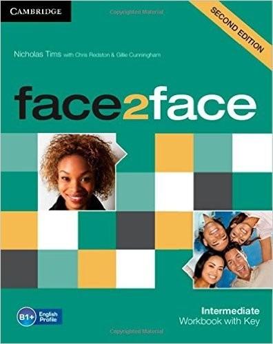 face 2 face intermediate 2 ed - workbook with key  cambridge