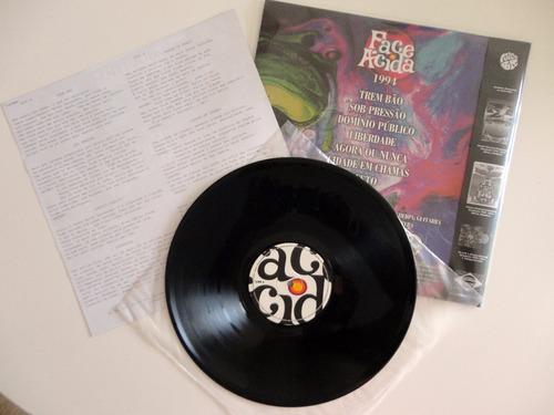 face ácida 1994 a maior banda de rock do interior 180g