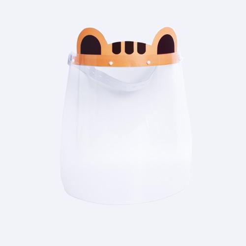 face shield infantil tigre máscara protetora escudo protetor
