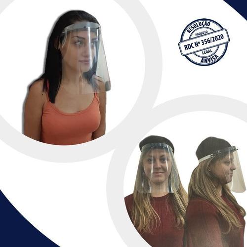 face shield kit 15 unidades protetor facial máscara