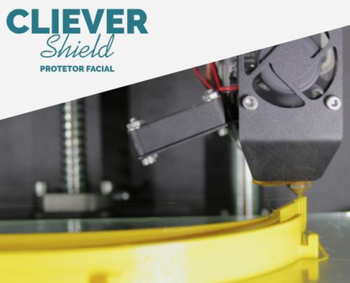 face shield - protetor facial impresso em 3d - epi