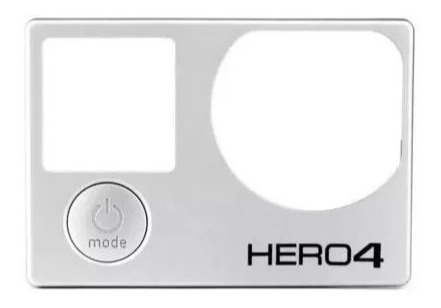 faceplate gopro hero 4 capa frontal go pro