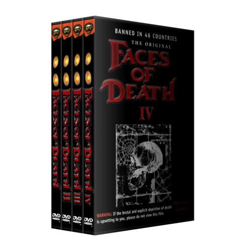 faces of the death coleccion completa en dvd