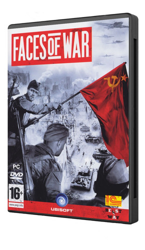 faces of war juego pc original fisico dvd box belico
