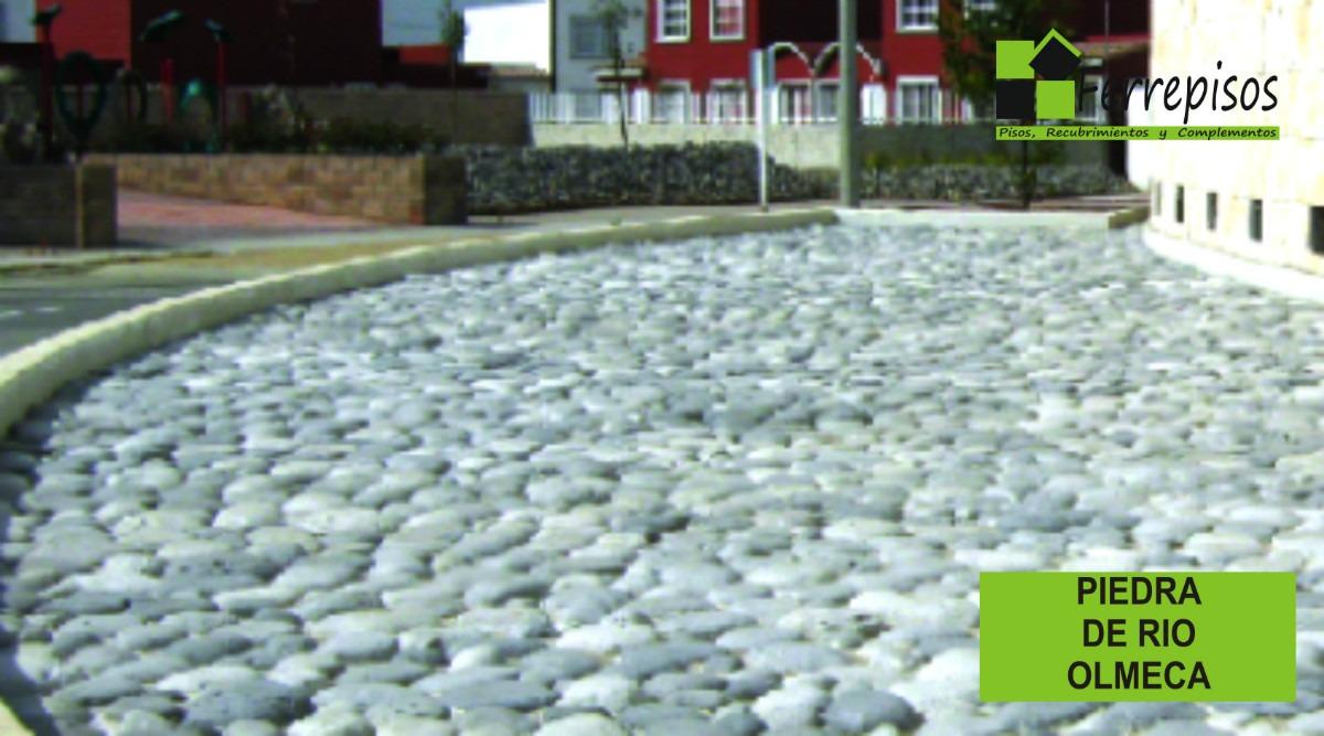 Fachadas aparentes piedra de rio mmu en mercado libre - Precio de piedra para fachada ...