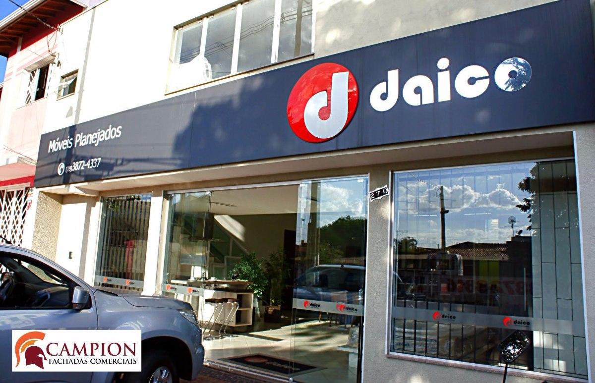 fachadas comerciais para lojas e empresa r 100000 em