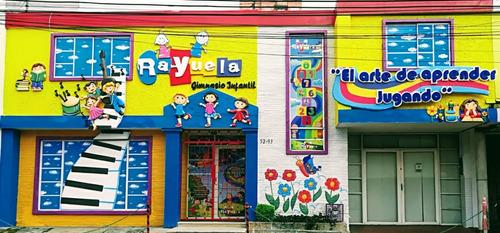 fachadas para jardines infantiles