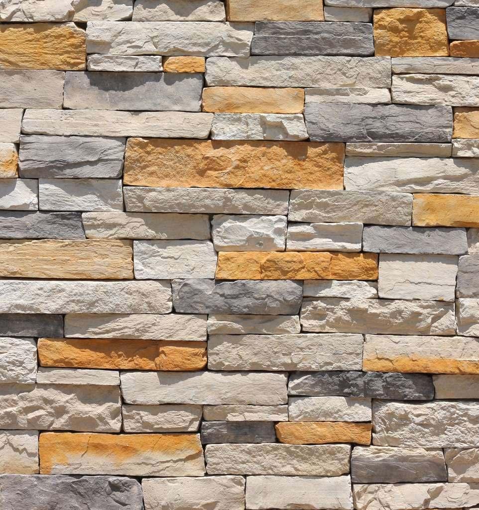Fachaleta modelo mountain ledge marca perdura stone - Adoquin de piedra ...