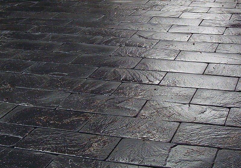Fachaleta piedra laja natura negro grafito pizarra slate for Piedra natural pizarra