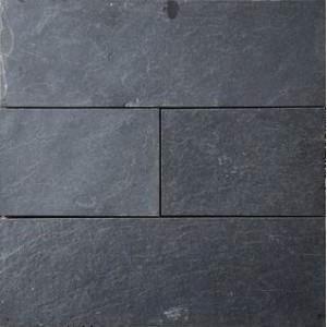 Fachaleta piedra laja natura negro grafito pizarra slate - Piso de pizarra ...