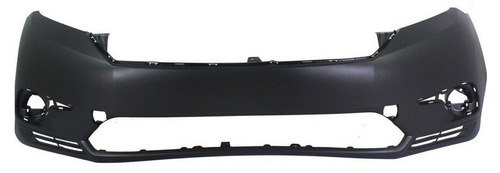 facia defensa delantera toyota highlander 2011 - 2013