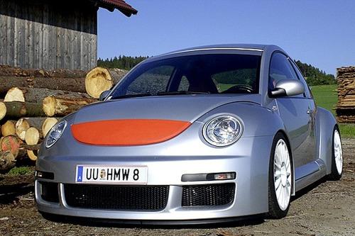 facia defensa lip spoiler vw new beetle rsi 1998 - 2005