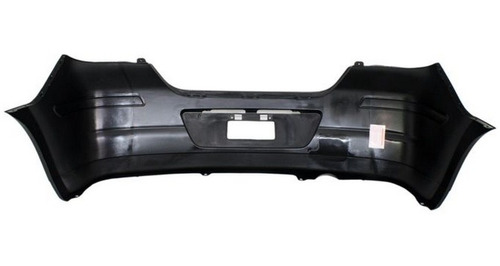 facia defensa tras nissan tiida hatchback 2007 - 2013