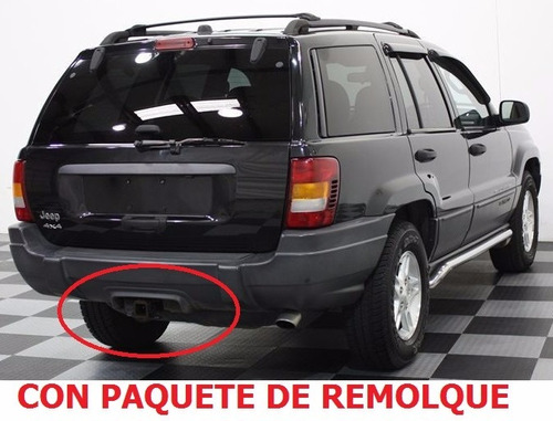 facia defensa trasera jeep grand cherokee laredo 1999 - 2004