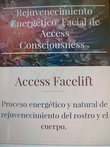 facial amber mas sesión facelift access