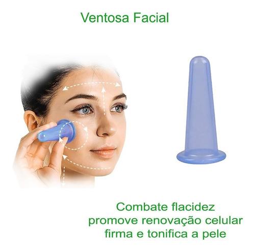 facial cupping ventosa de massagem vacuo copo silicone