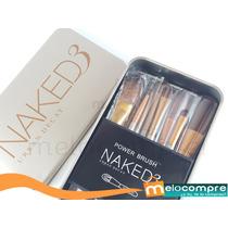 Set Kit Estuche De 12 Brochas Maquillaje Naked ,mejor A Mac